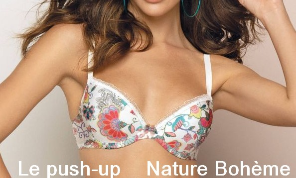 Soutien gorge push up nature boheme antigel